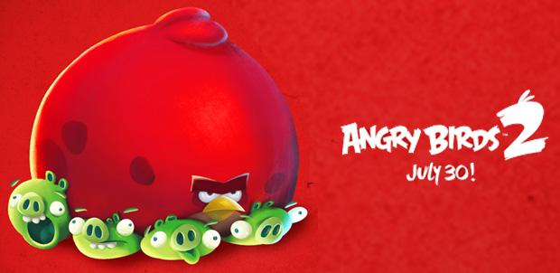 Angry Birds 2 no llegará dispositivos Windows Phone