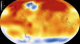 2015 fue el año más caluroso desde 1880