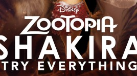 Shakira canta Try Everything para la cinta Zootopia