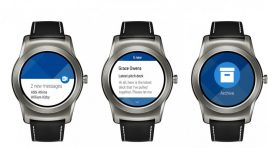 Outlook ya está disponible para Android Wear