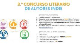 Tercer Concurso Literario de Autores Indie en Español de Amazon