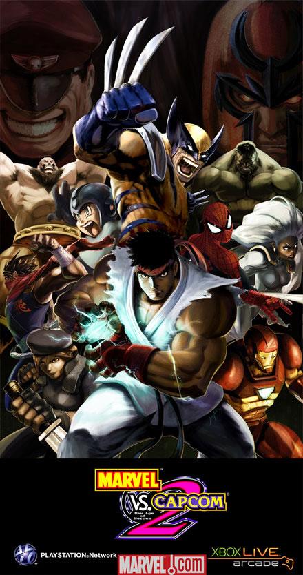 Regresa Marvel vs Capcom 2