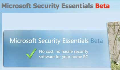 Beta de Microsoft Security Essentials
