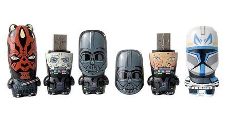 Mimobot de Darth Vader Unmasked