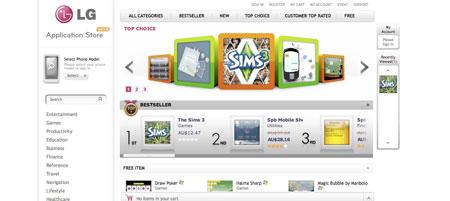 LG Application Store lista esta semana