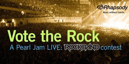 Lo nuevo de Pearl Jam en Rock Band