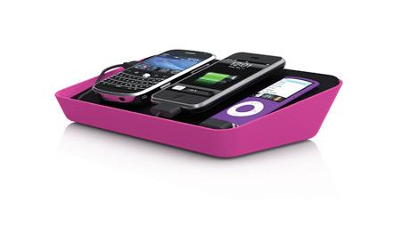 Cargador para iPod y BlackBerry