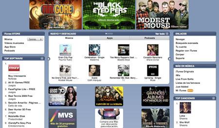 Lista la iTunes Store México