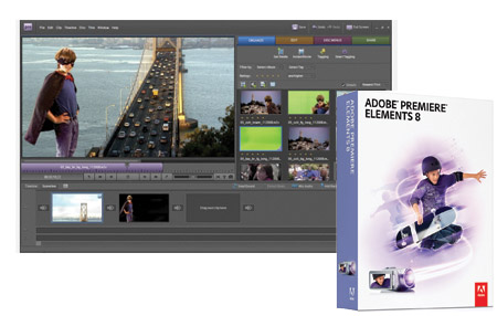 Adobe Premier Elements 8 está listo