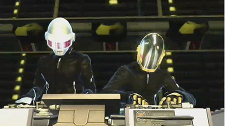 Mixes de Daft Punk en DJ Hero