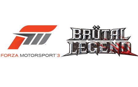 Forza 3 y Brütal Legend en Xbox Live