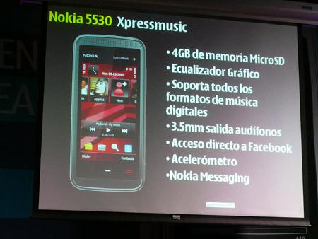 Nokia 5530 llega a México
