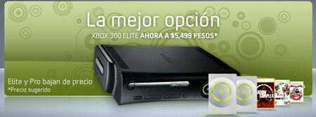 Xbox bajó de precio