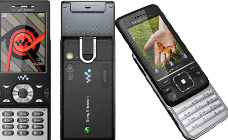 Video: Nuevos teléfonos de Sony Ericsson