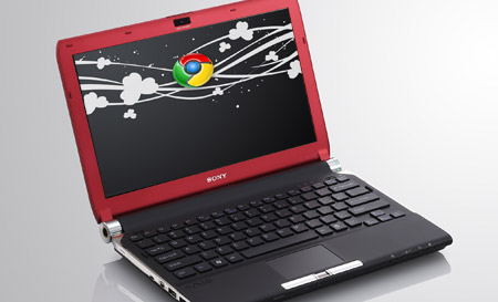 Google Chrome en Vaio