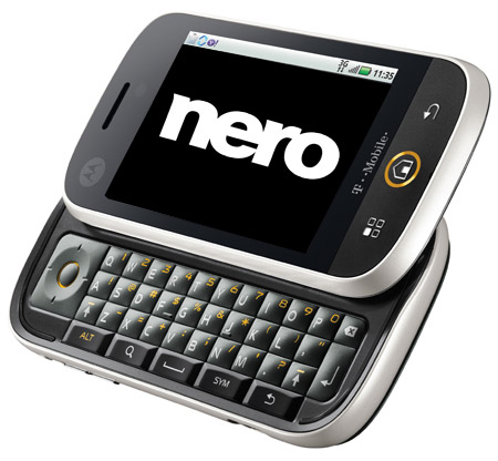 Nero apoya a Motorola DEXT