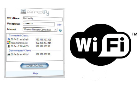 Convierte tu PC en Wi-Fi Hotspot