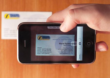 App para tarjetas de presentación