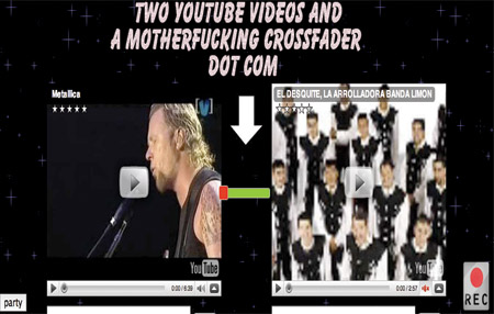 Mezclas en YouTube