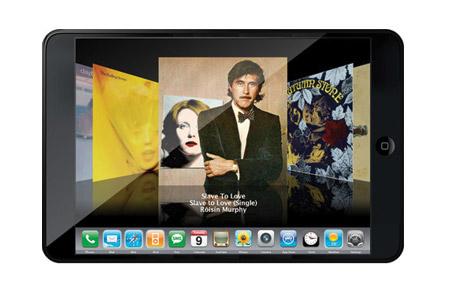 Detalles de la tableta de Apple