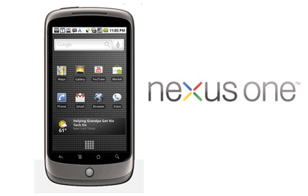 Google y HTC presentan Nexus One