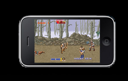 Golden Axe, Ecco the Dolphin van al iPhone