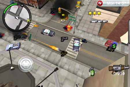 Grand Theft Auto llega al iPhone