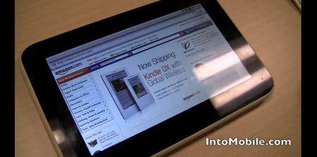 Tabletas con Android y Tegra 2