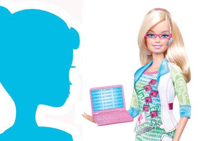 Barbie ahora es Geek