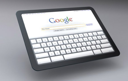 Tableta con ChromeOS de Google