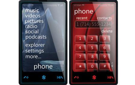 Detalles de Windows Mobile 7