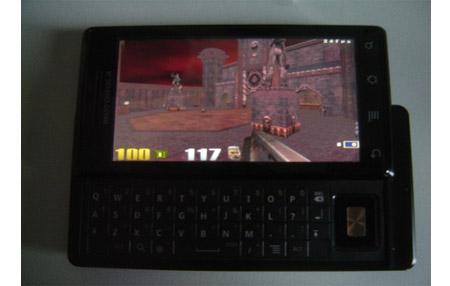 Quake 3 en Motorola DROID