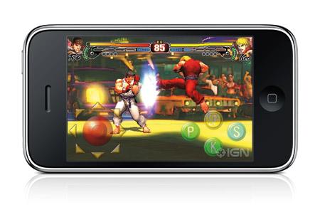 Street Fighter IV llegará al iPhone