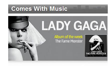 Lady Gaga la mejor en Nokia Music Store