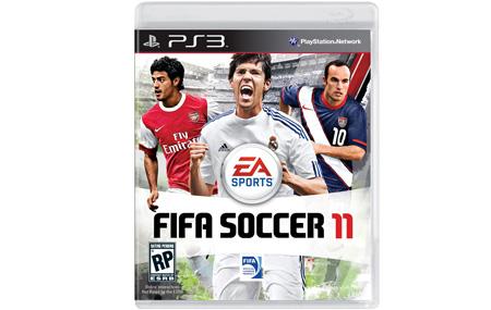 Lista la portada de FIFA Soccer 11