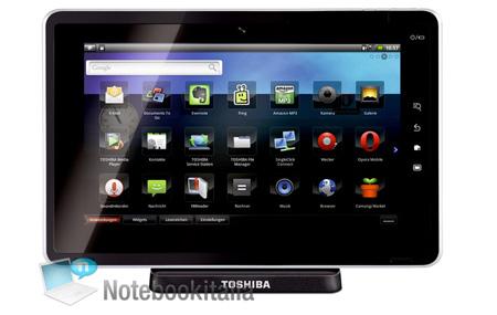 Folio 100, la tableta de Toshiba