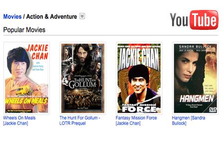 Gratis, películas en YouTube Movies