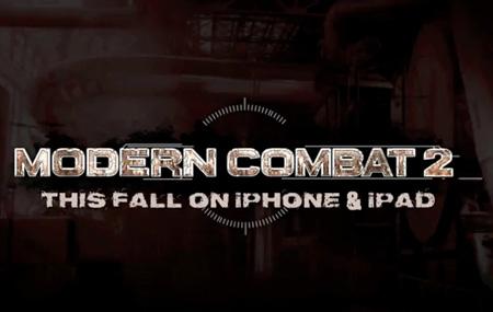 Modern Combat 2 para iPad y iPhone 4