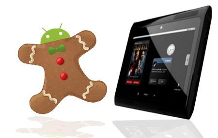 Tableta de Motorola con Android 3.0