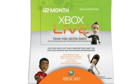 Xbox LIVE Gold incrementa su precio