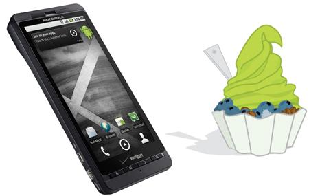 Android 2.2 para Motorola DROID X