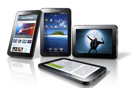 Se presenta Galaxy Tab, la tableta de Samsung