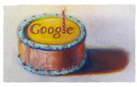 12 años de Google