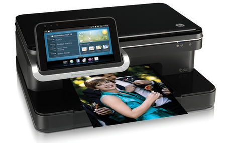 HP Photosmart eStation con tableta Android