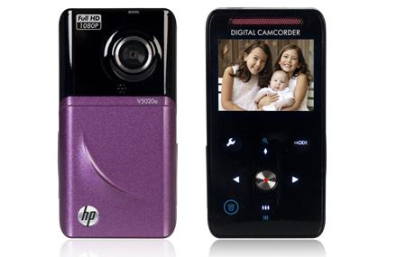 Nueva cámara portátil HP V5020u