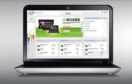 AppUp la nueva tienda de Intel