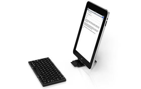 Un teclado Bluetooth para iPad