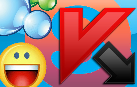 Virus a través de mensajería instantánea
