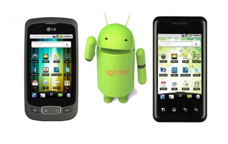 La nueva serie LG Optimus con Android