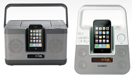 Sistemas de audio de Memorex para iPhone